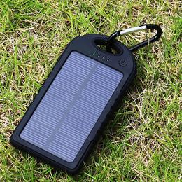 Carregador solar para celular