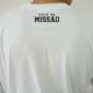 "Camiseta manga longa ""Foco Na Missão"" - Branca"