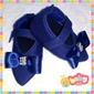 Scarpin com Velcro - Cores Lisas/Jeans (FA21)