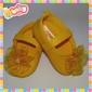 Sapatinhos com Velcro - Cores Lisas/Jeans (FA04)