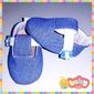 Sapatinhos com Velcro - Cores Lisas/Jeans (MA03)