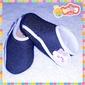 Sapatinhos Velcro - Cores Lisas/Jeans (FA09)