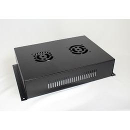 2fe6fb253 Caixa Para Montagem Eletrônica Metálica 340x80x240mm Cooler