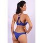 Conjunto de lingerie nadador com renda Lú