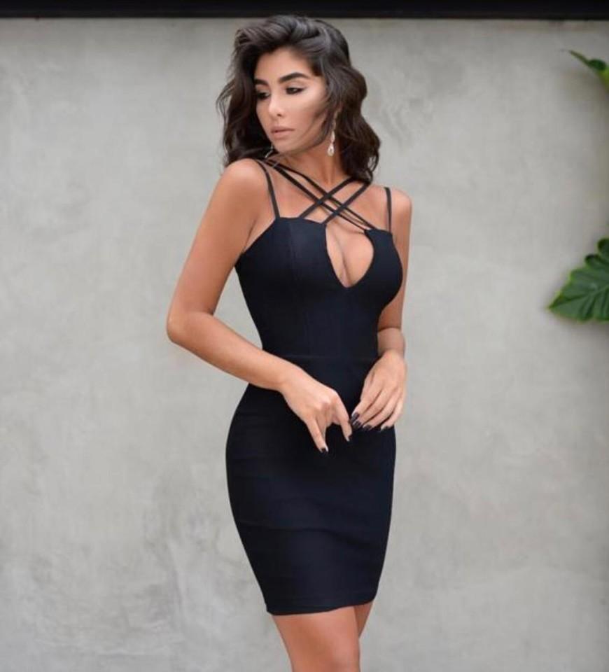 Vestido Ami cruzado