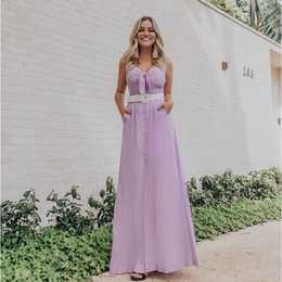 Vestido longo Marion