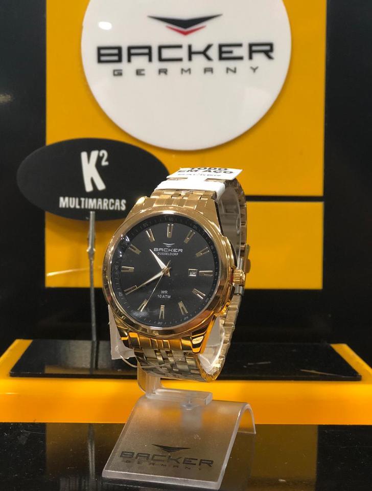 6793382755c Relógio Analógico Backer Germany - K2 Multimarcas