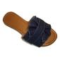 Rasteirinha RED BLUE S.M. Conforto Laço Larissa Jeans - Atacado