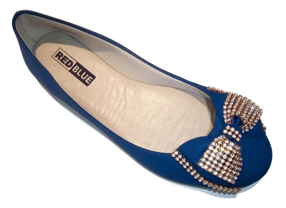 bd636edbf Sapatilha RED BLUE Roberta Em Nobuck Extra Conforto Azul - Atacado ...