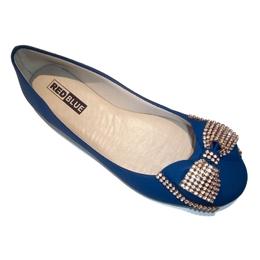 9ba564ca6 *Sapatilha RED BLUE Roberta Em Nobuck Extra Conforto Azul - Atacado