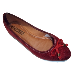017ef12c8 Sapatilha RED BLUE em Veludo Extra Conforto Vermelho - Atacado