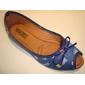 Sapatilha RED BLUE Conforto Cingapura Peep Toe Estampa Beijo - Atacado