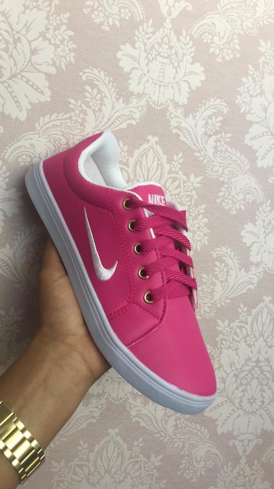 cafb81257a8 Tênis Sapatenis Feminino Nike Liso Cores Variadas 2019 - Calçados Silva