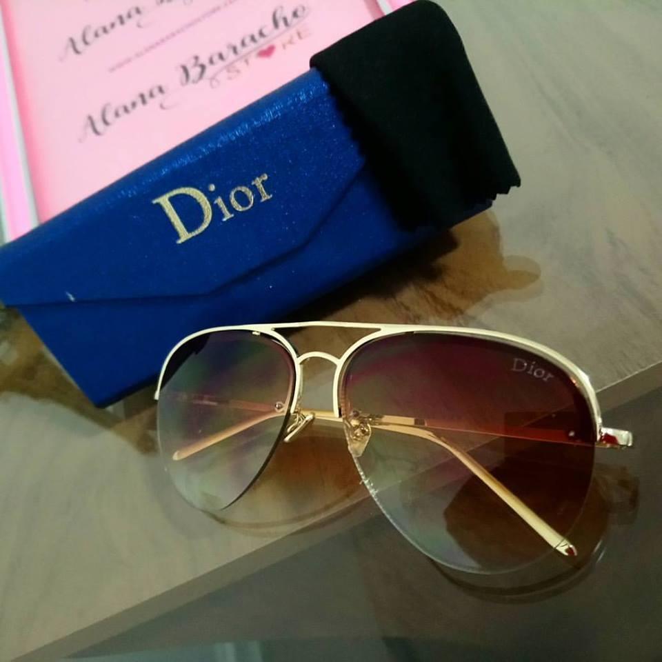 New Aviador Dior Marrom Unissex New Aviador Dior Marrom Unissex c4ab000999