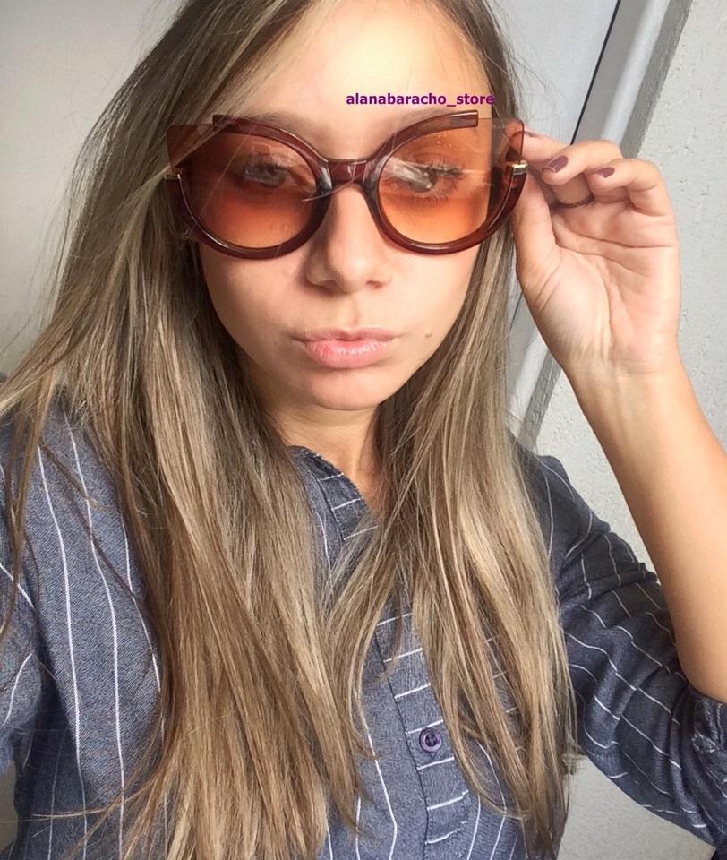 Óculos Marc Jacobs Gatinho Marrom - AB Shopp ecffd3dd63