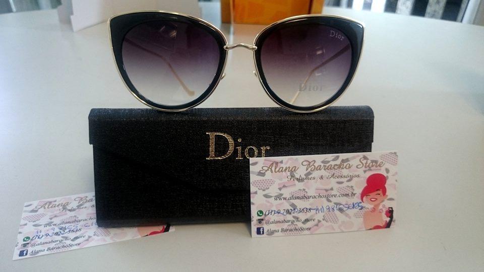 Óculos New Dior Gatinho Preto ♡ Óculos New Dior Gatinho Preto ... 485ca4fb79