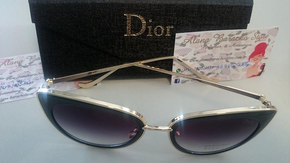 Óculos New Dior Gatinho Preto ♡ - AB Shopp 6d01d667ea