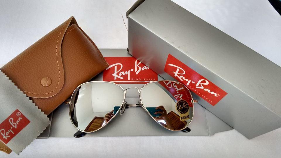 Ray-Ban Aviador Prata - Unissex ♡ - AB Shopp 541d452c98