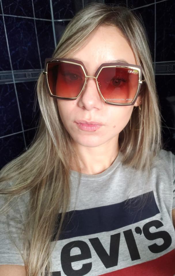 37d90946e37d4 Óculos Dior Quadrado - Novo - AB Shopp