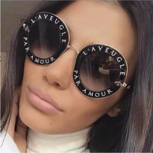 0286834f1 Óculos Gucci Round L'aveugle - AB Shopp
