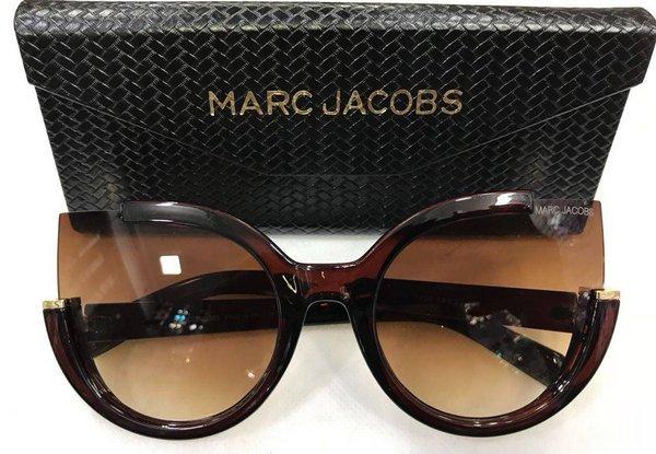 cc016d27ca785 Óculos Marc Jacobs Gatinho Marrom Óculos Marc Jacobs Gatinho Marrom ...