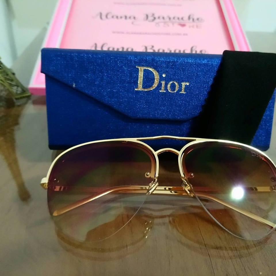 New Aviador Dior Marrom Unissex - AB Shopp e5795e4eb8