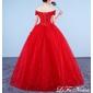 Vestido Vermelho Brilho