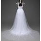 Vestido com cauda removível - Feito Sob Medida