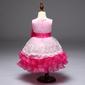 Vestido aia daminha Festa rosa Pronta Entrega