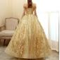 Vestido Dourado Debutante