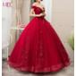 Vestido Marsala Princesa