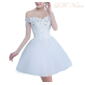 Vestido curto Noiva e debutante Cristal