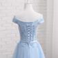 Vestido curto Noiva Debutante Azul