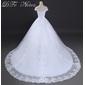 Vestido Maria com saiote, véu e tiara - Feito Sob Medida