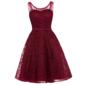 Vestido Curto Vermelho Brilho