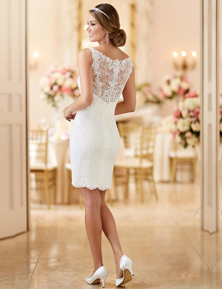 927b9ba5b4 Vestido de noiva 2 em 1 civil festa Sob Encomenda - LiFe Noiva