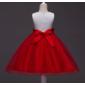 Vestido daminha pérola vermelha