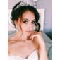 Tiara Luxo Brilho Princesa Pronta Entrega