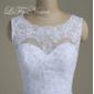 Vestido de noiva com cauda longa Melinda