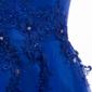 Vestido Curto Festa Azul