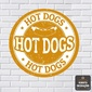 Quadro | Hot Dogs Redonda
