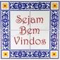 Placa Azulejo | Sejam Bem Vindos
