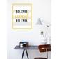 Quadro Frase | Home Sweet Home