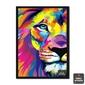 Quadro | Leão Pop Art