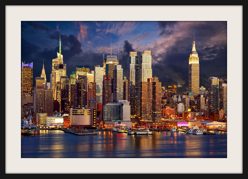 Quadro new york city manhattan roberta decoracoes