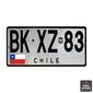 Quadro| Placa de Carro Chile