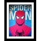 Quadro Heróis | Homem Aranha Retro