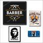 Conjunto Placas Barbershop 9 pçs| Barbearia, Salão, Barber shop