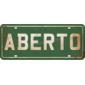 Placa Aberto