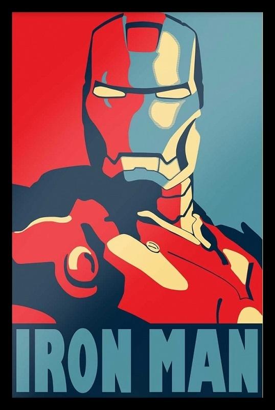3b74224f3d Quadro Heróis Homem de Ferro - Roberta Decoracoes